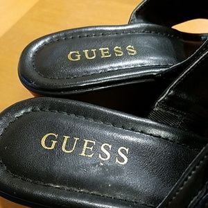 Guess Shoes - Guess slippers black size 7 new